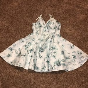 Hologram Silence + Noise Mini Dress